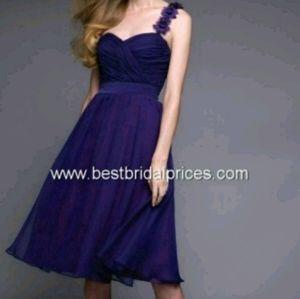 Plus size 26 purple dress Mori Lee
